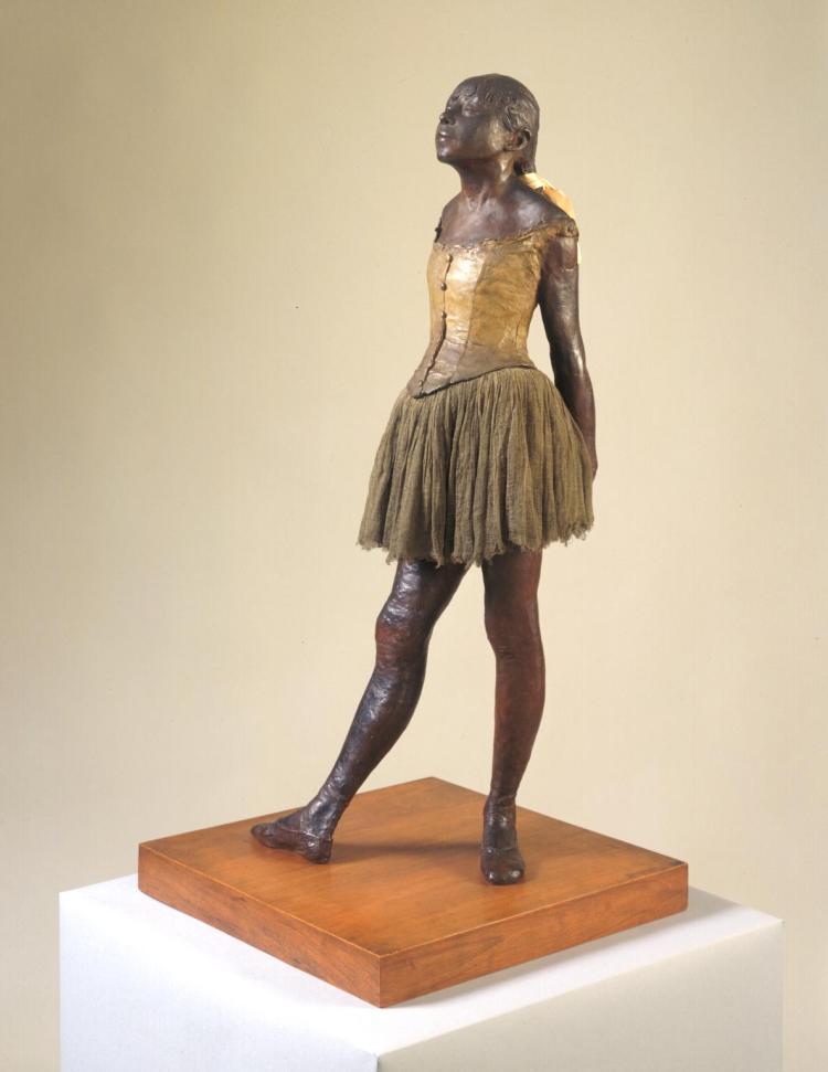 Little Dancer Aged Fourteen 1880-1, cast c.1922 by Edgar Degas 1834-1917